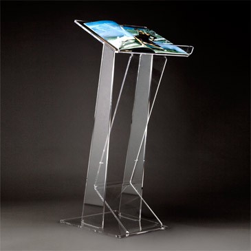 Leggio da terra portariviste espositori da terra in plexiglas - Leggio da tavolo per studiare ...