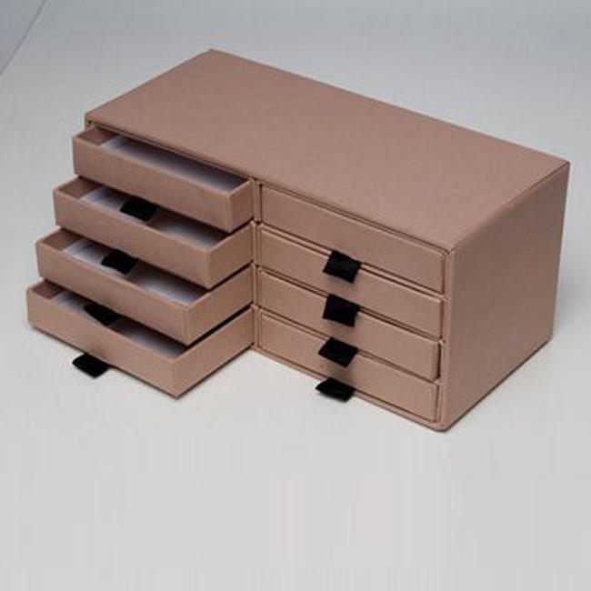 Cassettiere In Cartone.Scatola Rigida Con Cassetti Multipli Scatole Fasciate Rigide