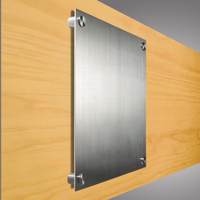 Targa da parete in metallo targhe da parete e fuori porta - Targhe porta plexiglass ...