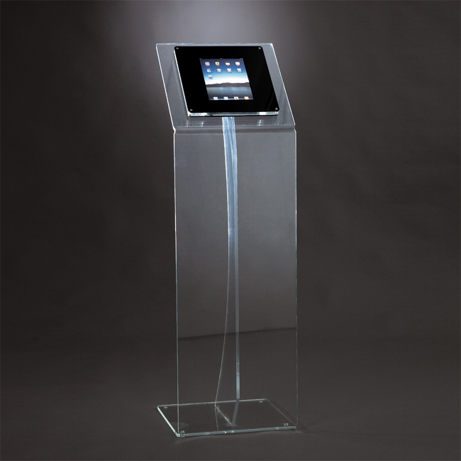 Espositore in plexiglas per iPAD