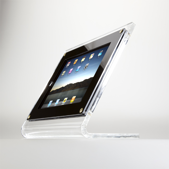 Espositore in plexiglass per iPAD