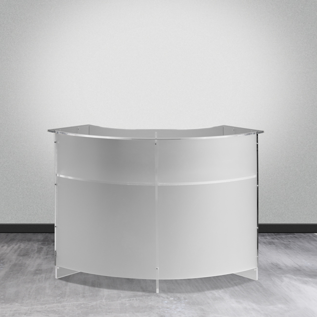 Espositore desk in plexiglas