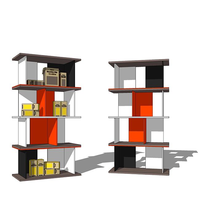 Populaire espositori in legno per negozi ricerca, 1 XA51