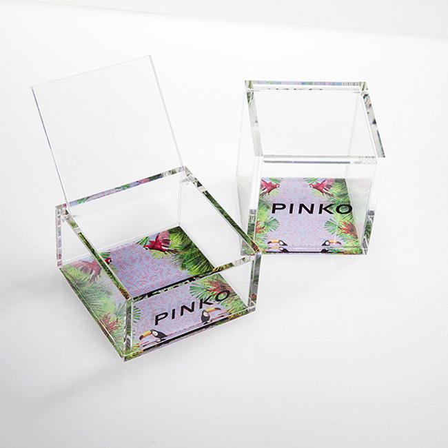 Scatoline porta accessori, Oggettistica in plexiglas