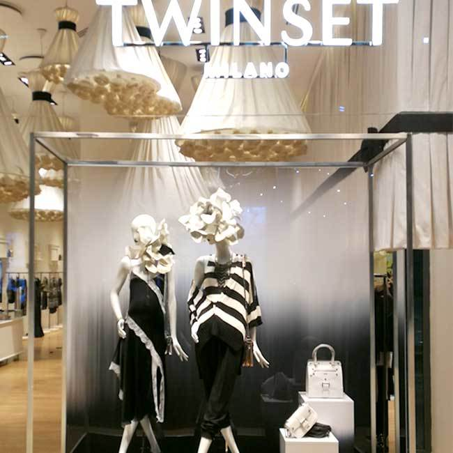 ALLESTIMENTO TWINSET - PROGETTO FASHION WEEK 2019